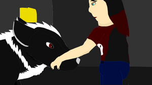 Xaxseno (wolf) and Melissa