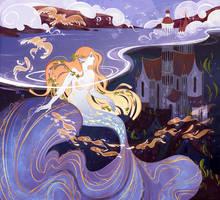 Illustrations for Mermaid artbook