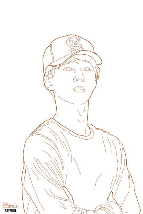 Line Art Kpop : Exo sehun line art by phycq on deviantart