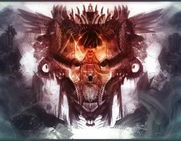 Skull Castle by YeaaaArtist
