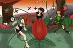 Spygirls on Planet F