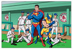 superman and the redsox