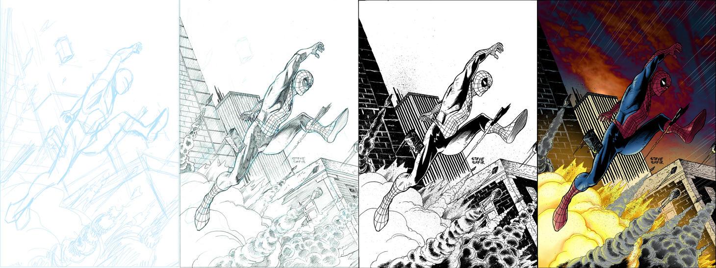 spiderman process by stevesafir