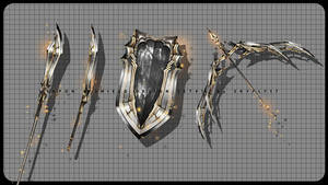WEAPON and SHIELD design set #1