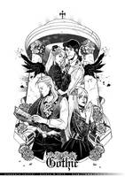 Gothic-ink by eloelo