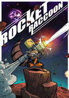 RocketRaccoon by eloelo