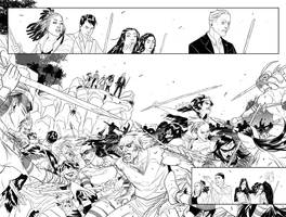 DOCTOR WHO: THE TENTH DOCTOR Y2#6 pages 4-5 by eloelo