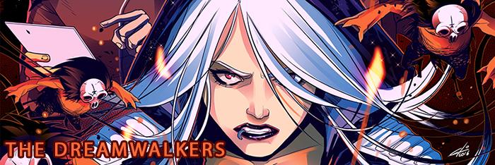 The Dreamwalkers website banner by eloelo