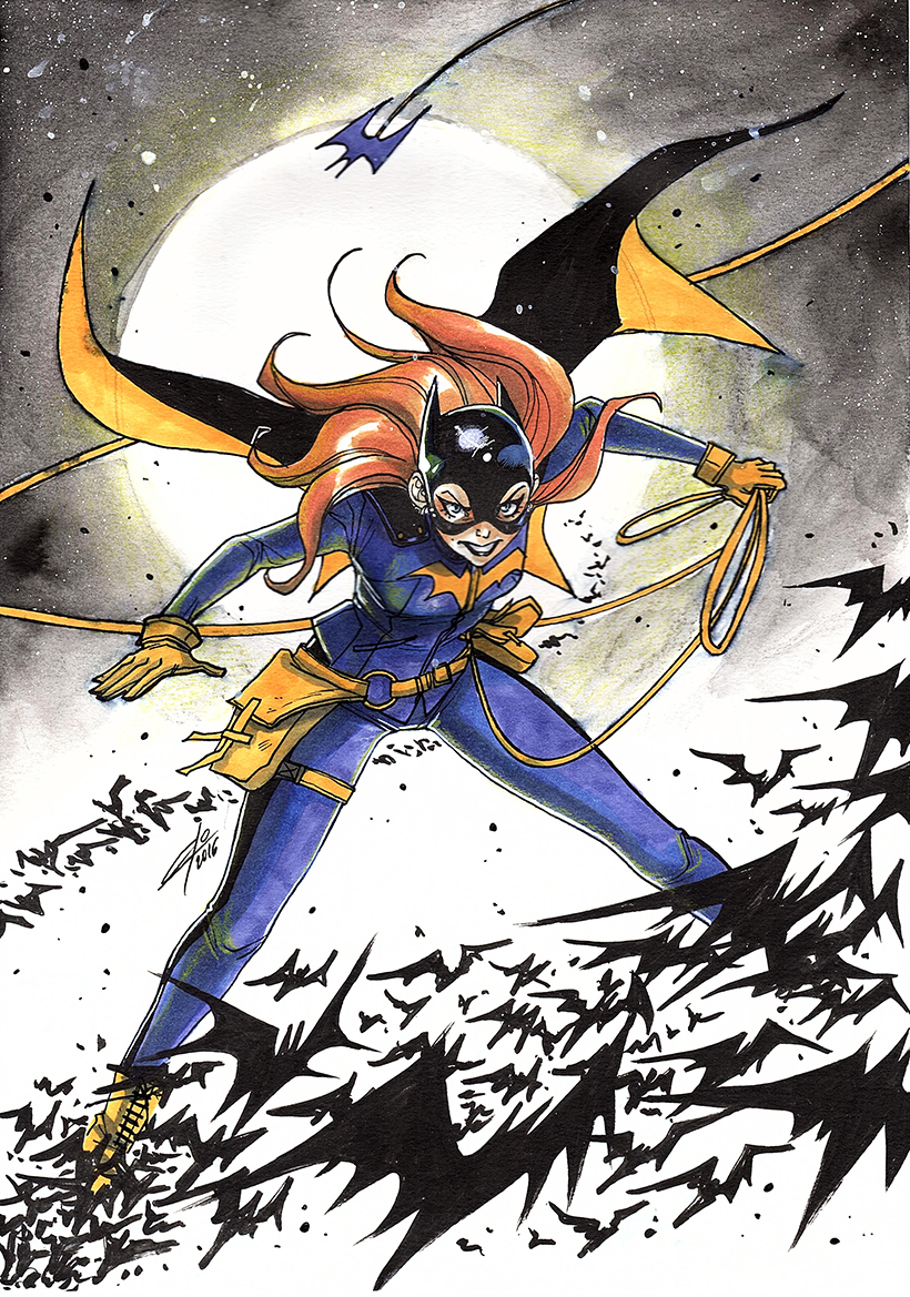 Batgirl Commission (1) by eloelo