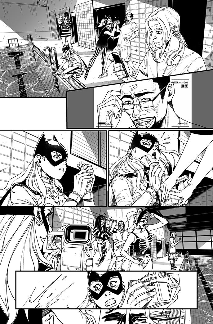Batgirl#12 - page6 by eloelo