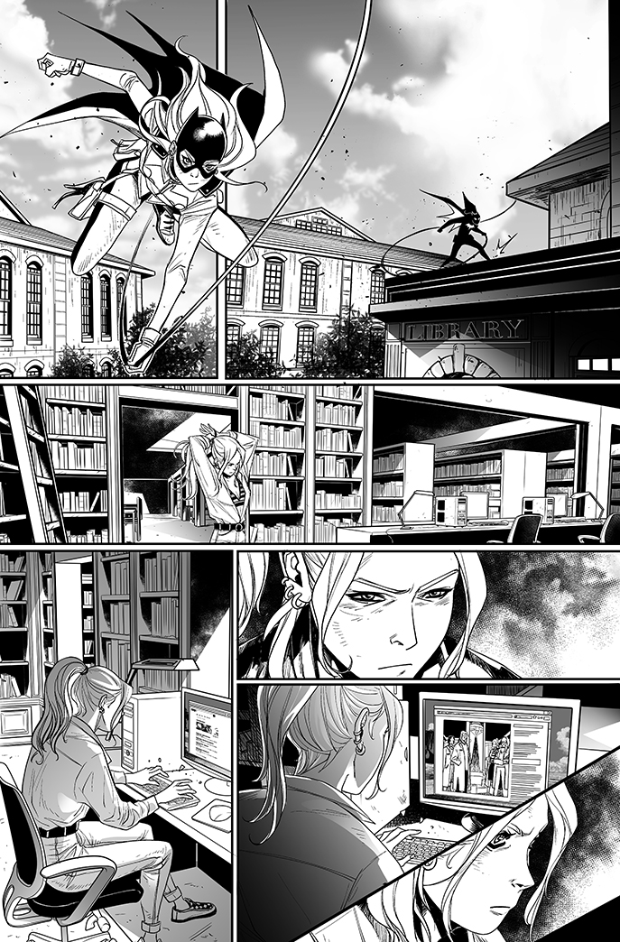 Batgirl#12 - page 9 by eloelo