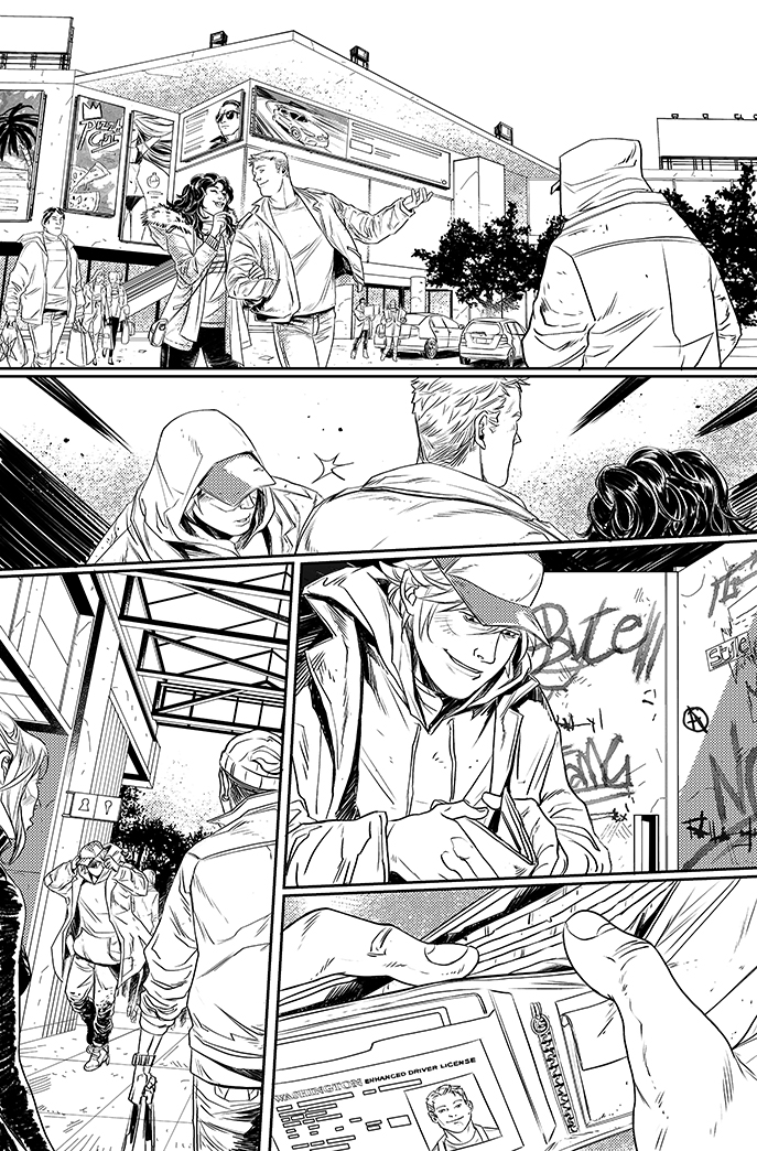 Green Arrow #18 The return of Roy Harper - page 1 by eloelo
