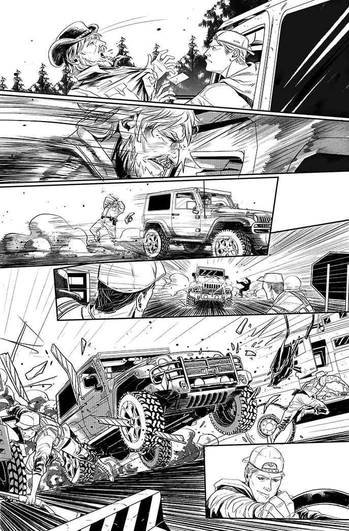 Green Arrow #18 The return of Roy Harper - page 5 by eloelo