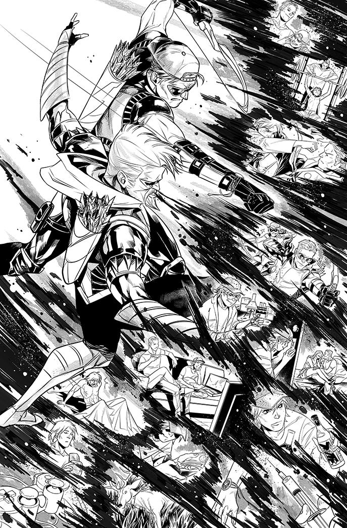 Green Arrow #19 The return of Roy Harper - page 2 by eloelo