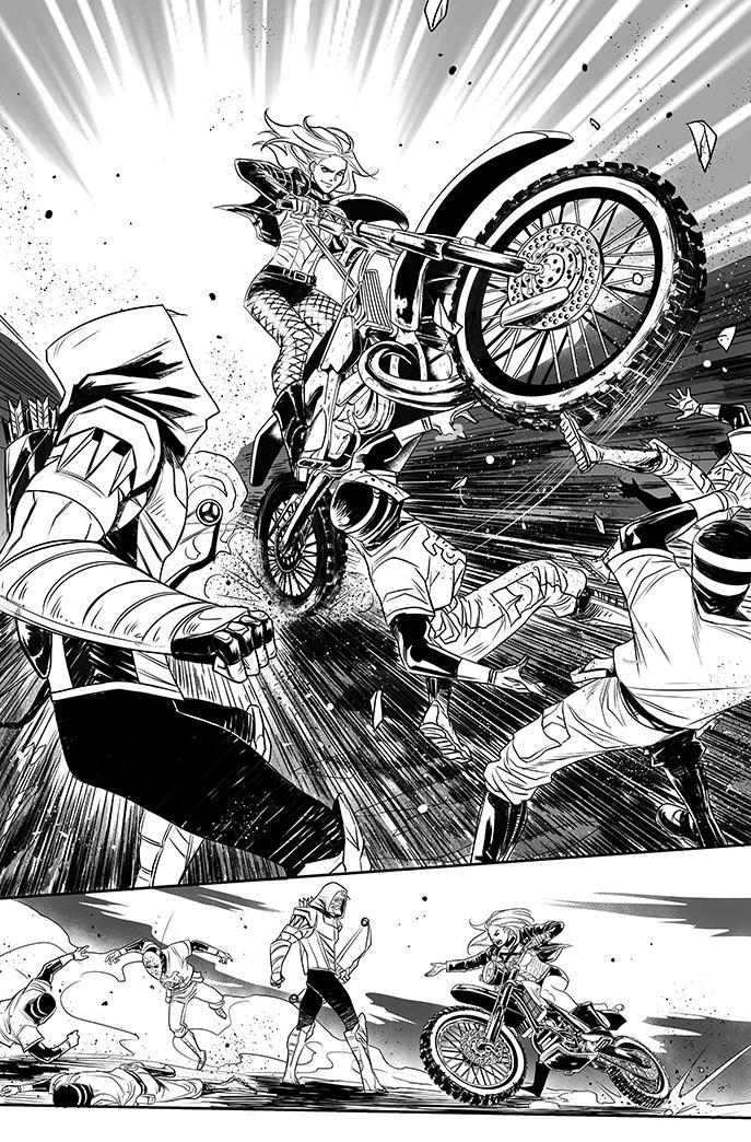 Green Arrow #19 The return of Roy Harper - page 6 by eloelo