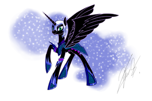 Nightmare Moon by Theorous