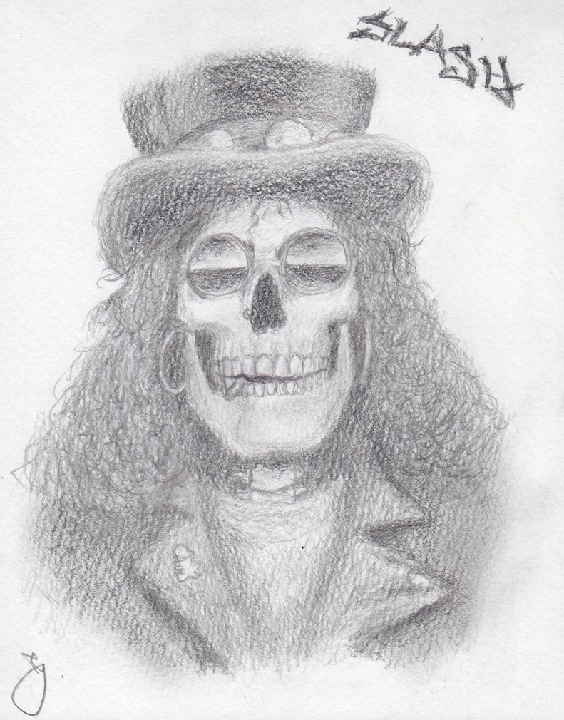 Slash skull by jc1593 on DeviantArt