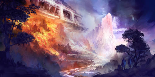 Crash Landing by KaiSaunders