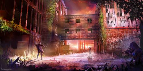 Derelict by KaiSaunders