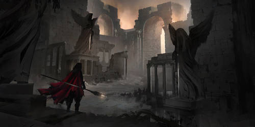 Gates of Ruin by KaiSaunders