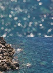 Bokeh sea by angelGIo