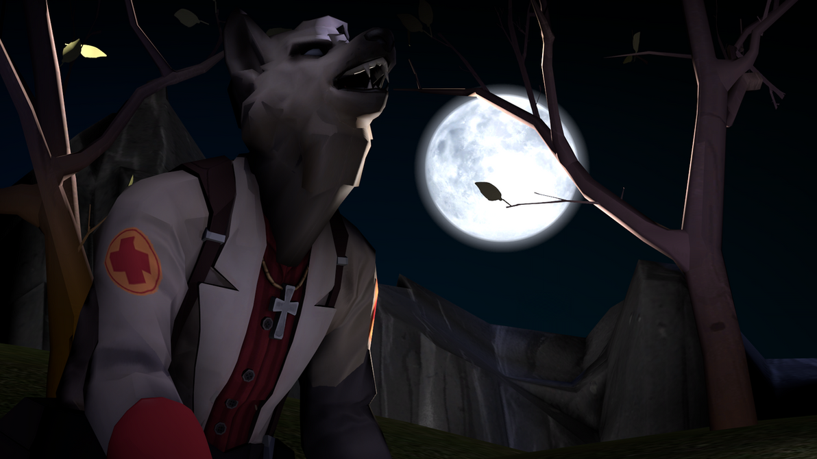 A Germanic Werewolf in 2Fort [sfm] by Little-Eli