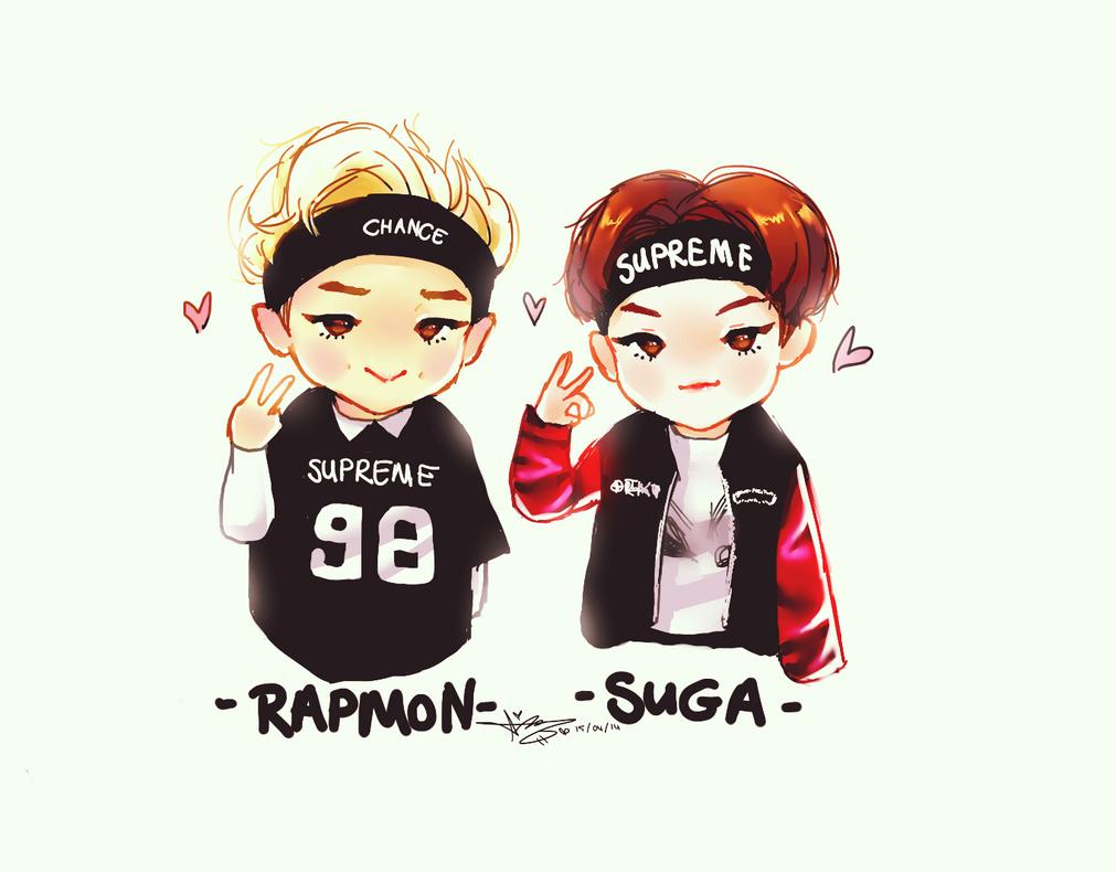 U Uuu 2015 >> BTS// Sugamon~ Suga / Rapmonster ^^ by BlueSushiKitty2 on DeviantArt