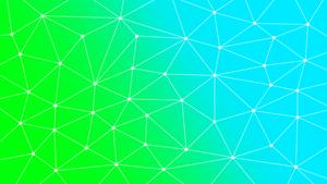 Web Wallpaper Green-Blue