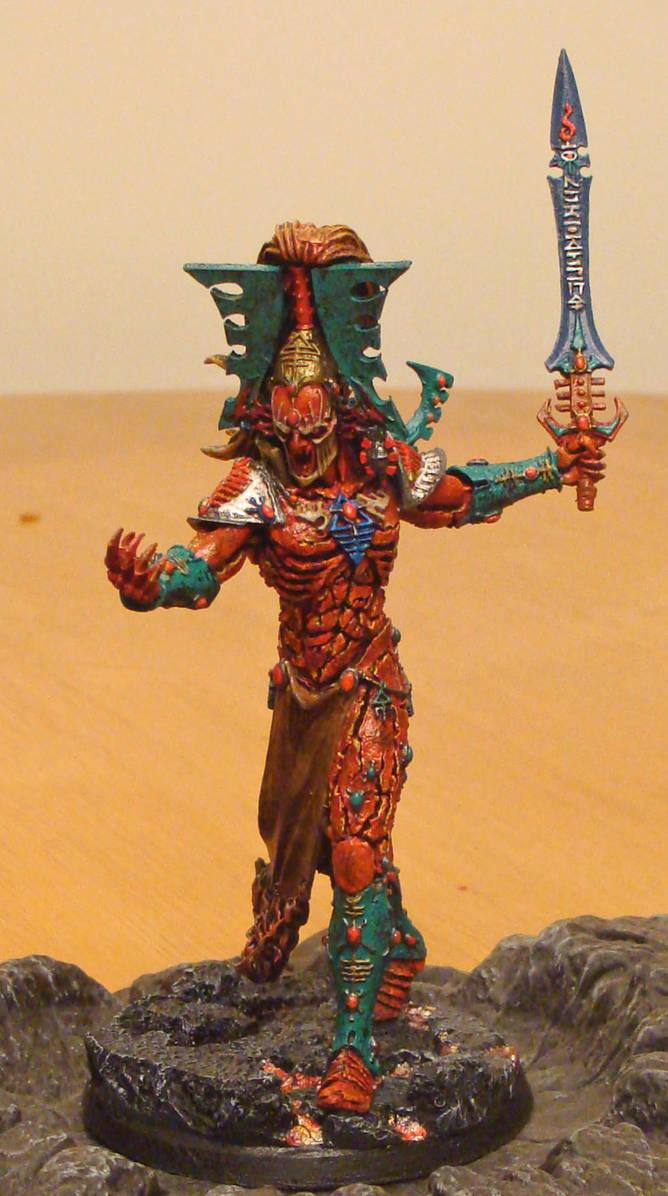 Biel-Tan Avatar of Khaine by Kirasu on DeviantArt