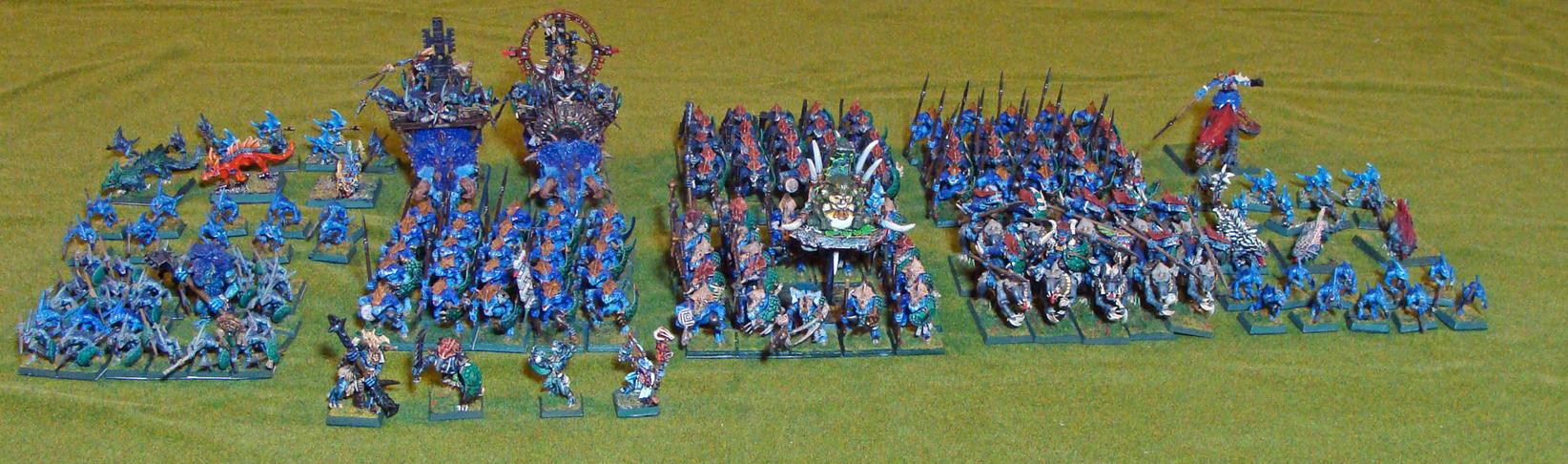 Lizardman Army By Kirasu On Deviantart