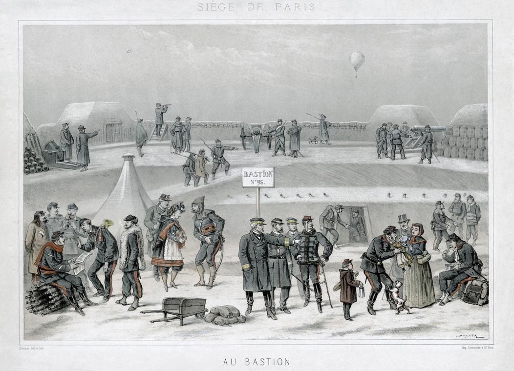 Siege de Paris: Au Bastion by AdamCuerden