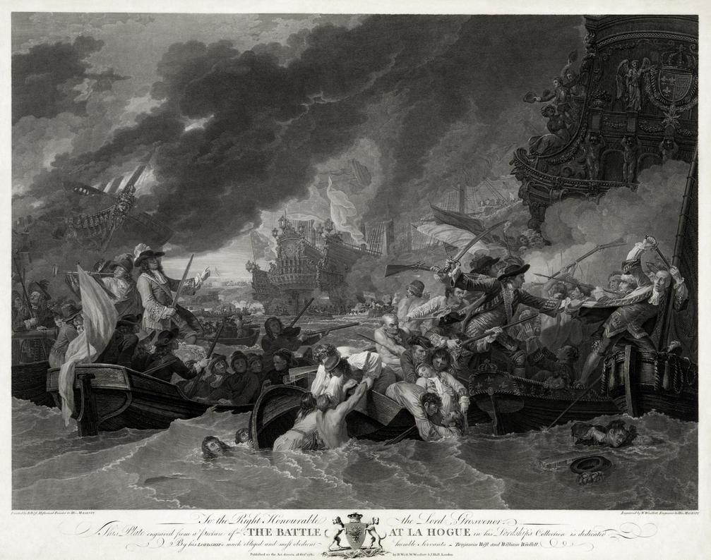 Battle of La Hogue restoration by AdamCuerden