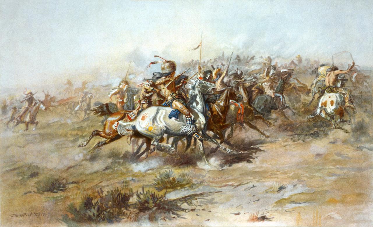 The Custer Fight restoration by AdamCuerden