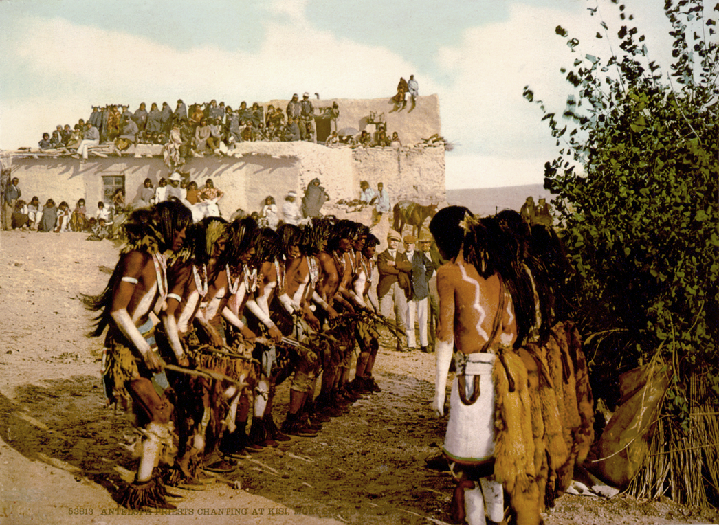 Hopi Indians restoration by AdamCuerden