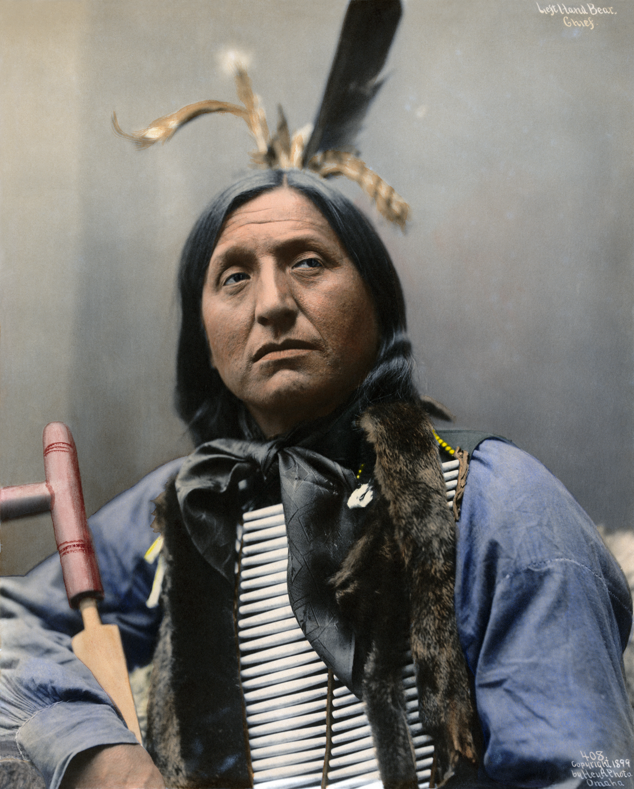Left Hand Bear, Oglala chief by AdamCuerden