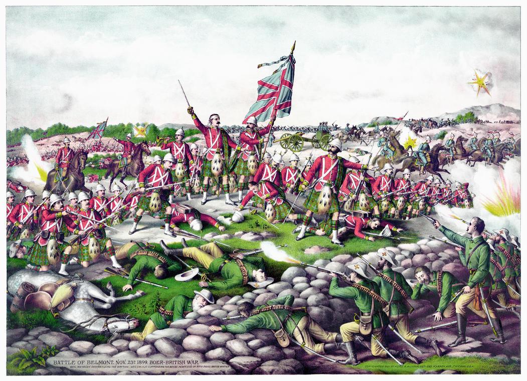 Belmont, Boer War restoration by AdamCuerden