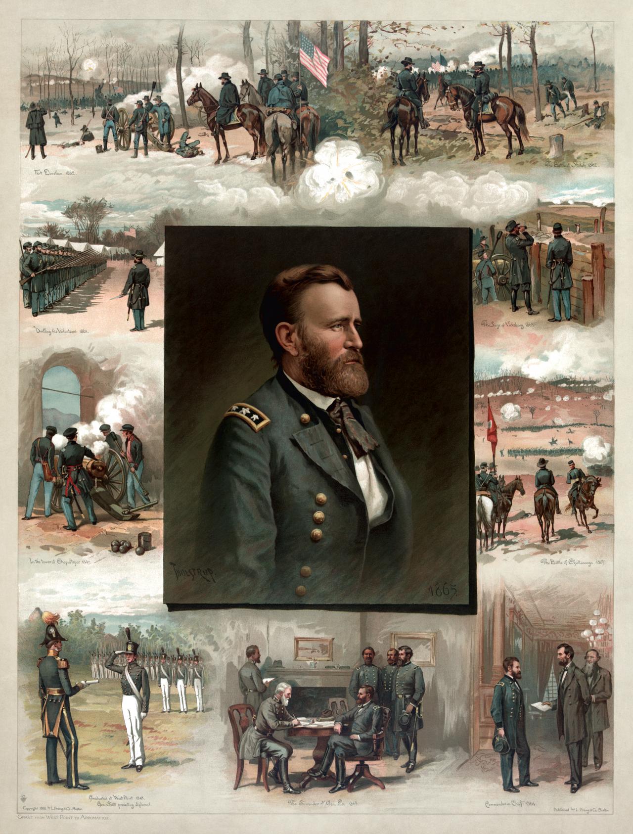 Ulysses S. Grant restoration by AdamCuerden