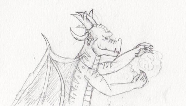 Dragon Sketch 2