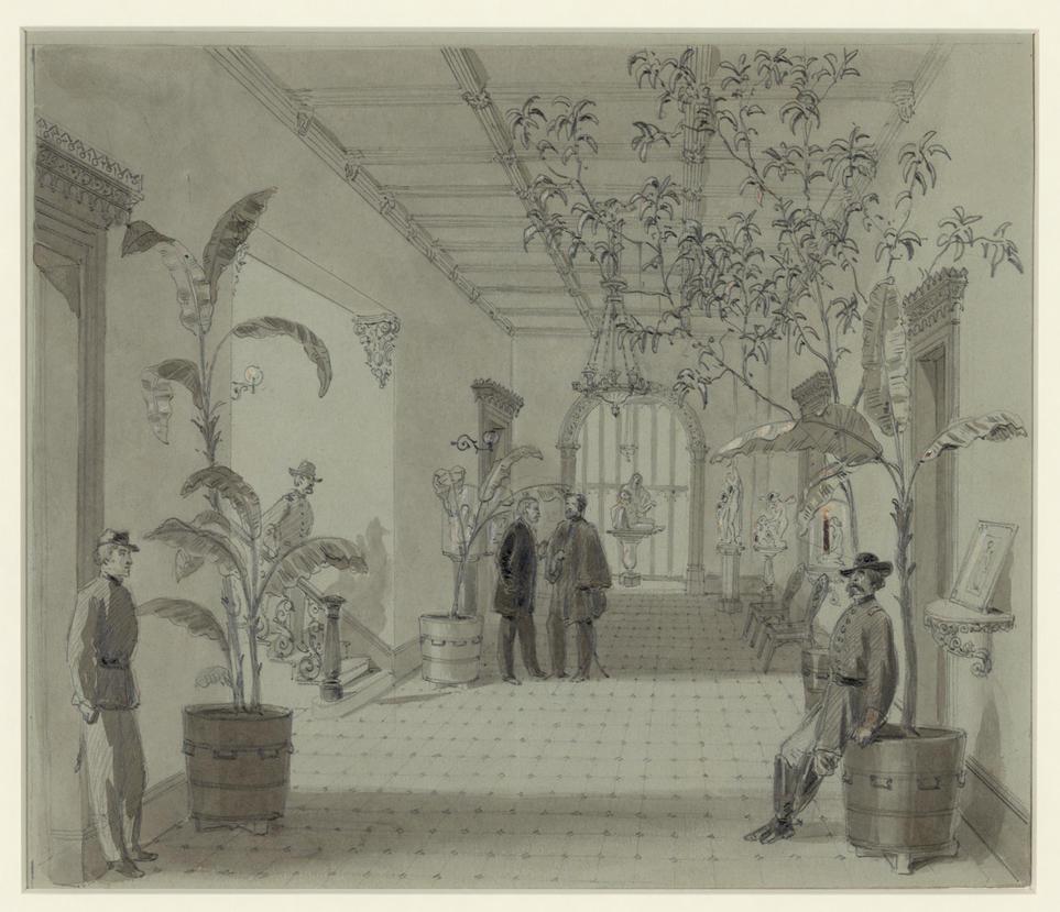 William  Waud: Sherman in Savannah (restoration) by AdamCuerden