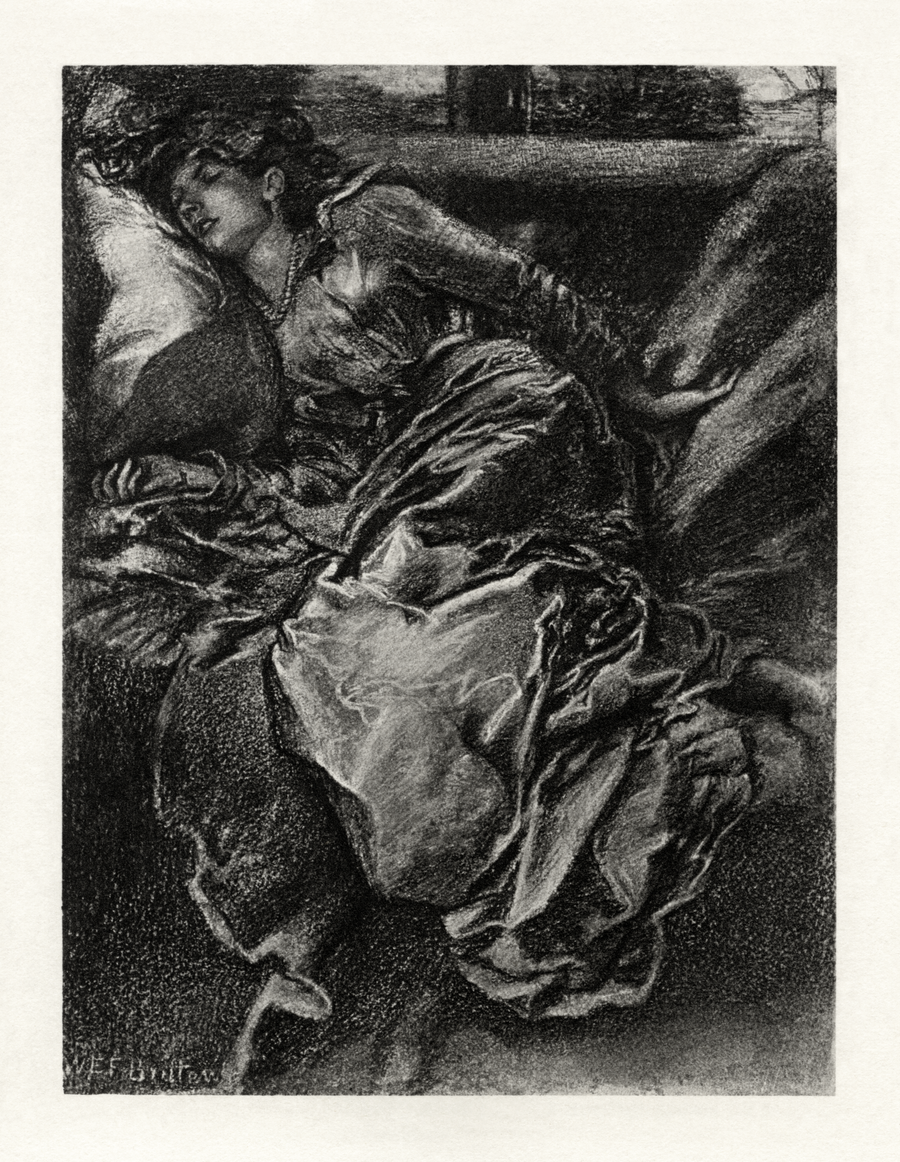 Tennyson's Sleeping Beauty restoration by AdamCuerden