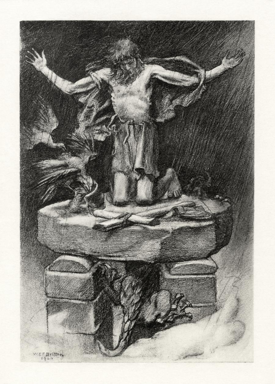 Tennyson's St. Simeon Stylites restoration by AdamCuerden