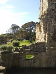 Inside Inchcolm Abbey by AdamCuerden