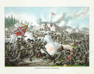 Battle of Fort Sanders restoration by AdamCuerden