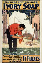 1898 Ivory Soap advert restoration (1) by AdamCuerden