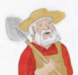 John Casterbridge, Paladin of the Holy Shovel by AdamCuerden