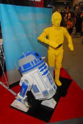 LEGO R2D2 + C3PO by Leshii203