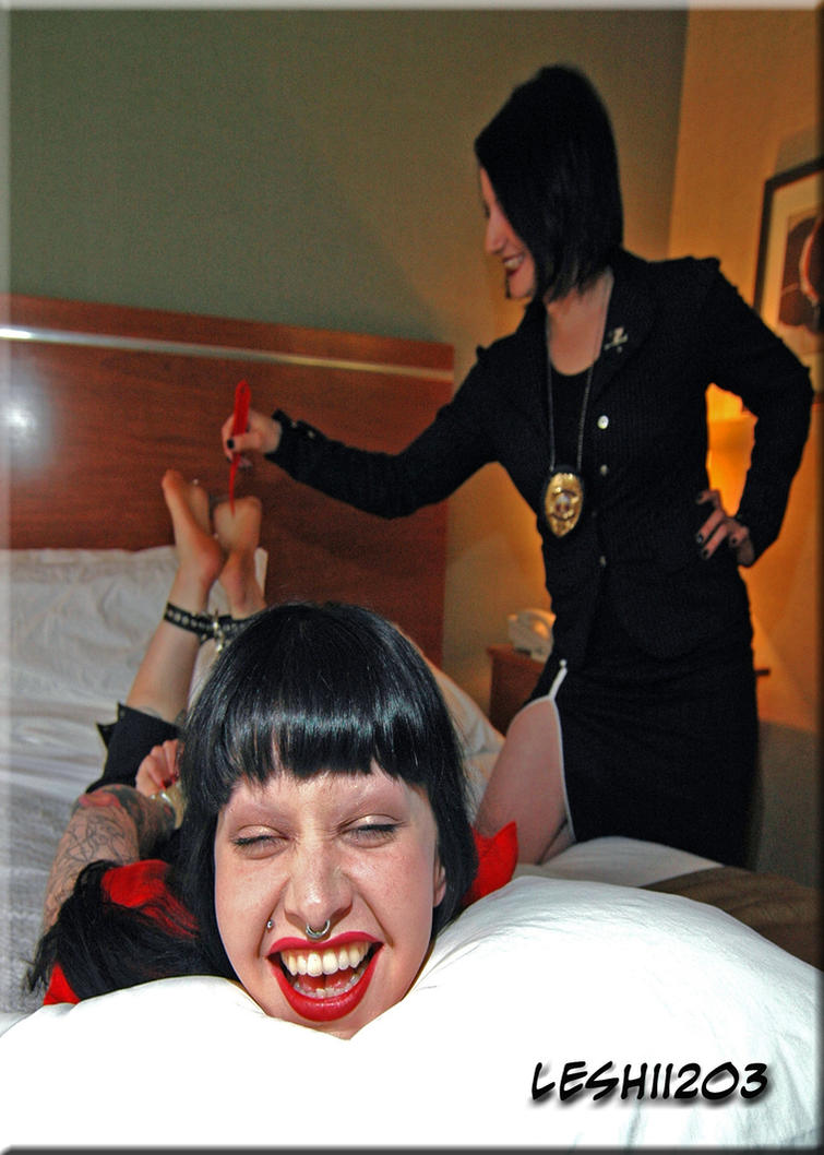 Maya Interrogation by Agent GG by Leshii203