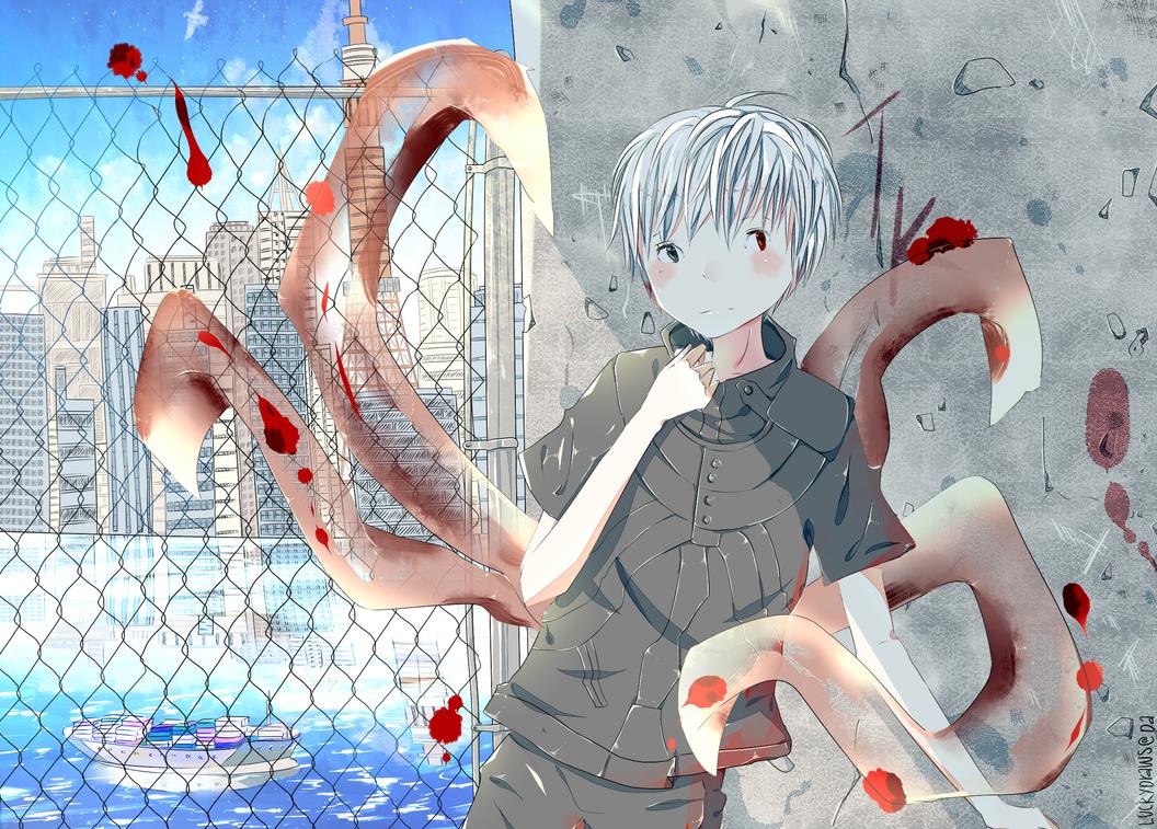 Kanekiken2 by luckydraws