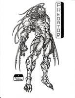 The Predator by elflabo