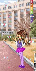 school girl alex by askcrona2
